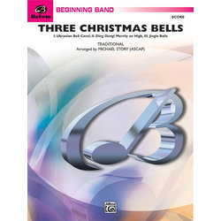 Three Christmas Bells - Score & Parts, Grade 1