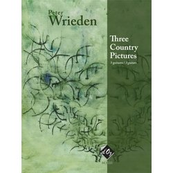 Three Country Pictures (Wrieden) - Guitar Trio