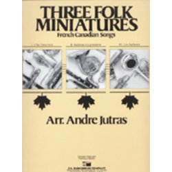 Three Folk Miniatures - Score & Parts, Grade 3