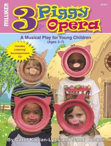 View larger image of Three Piggy Opera - Unison and Perf/Accomp CD