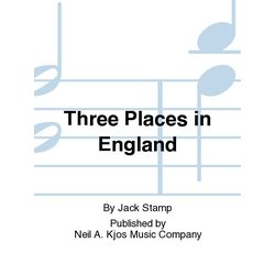 Three Places in England - Score & Parts, Grade 4.5