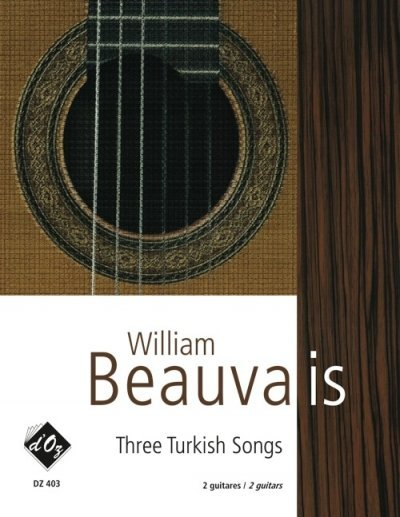 View larger image of Three Turkish Songs (Beauvais) - Guitar Duet