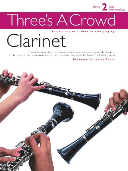 View larger image of Three's A Crowd Bk2 - Clarinet