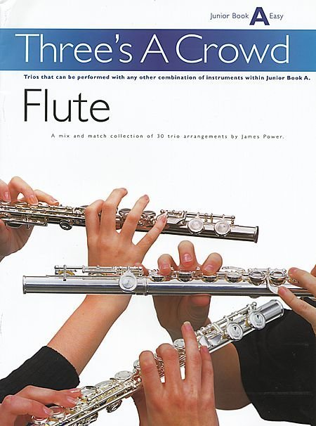 View larger image of Three's A Crowd Junior Bk A - Flute