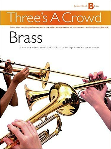 View larger image of Three's A Crowd Junior Bk B - Brass