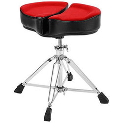 """Ahead Spinal-G Saddle Throne - 18"""", Red"""