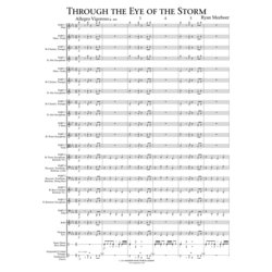 Through the Eye of the Storm - Score & Parts, Grade 1.5