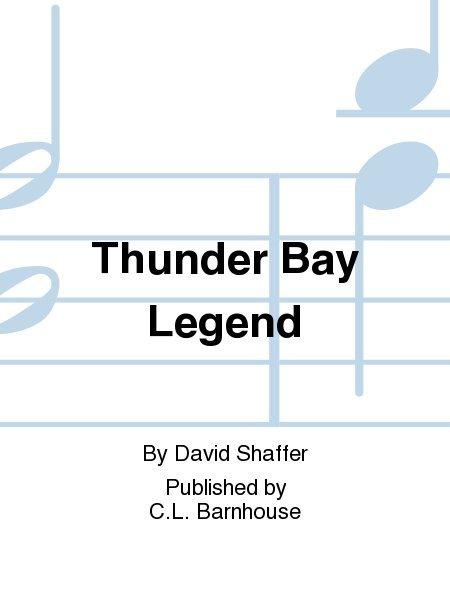 View larger image of Thunder Bay Legend - Score & Parts, Grade 2