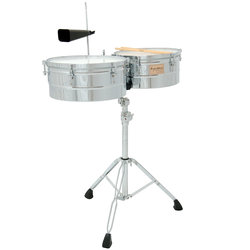 Tycoon Timbales - 14 / 15, Chrome