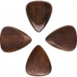 Timber Tones Indian Chestnut Guitar Picks - 4 Pack