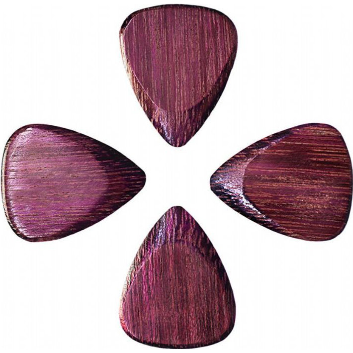 View larger image of Timber Tones Purple Heart Guitar Picks - 4 Pack