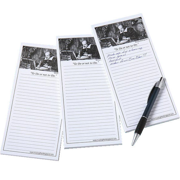 View larger image of To Do List Notepad