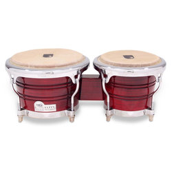Toca Elite Pro Wood Bongos - Crimson Maple