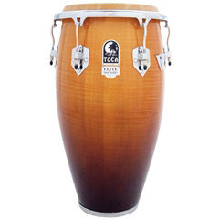 View larger image of Toca Elite Pro Wood Conga - 12 1/2, Natural Maple Fade