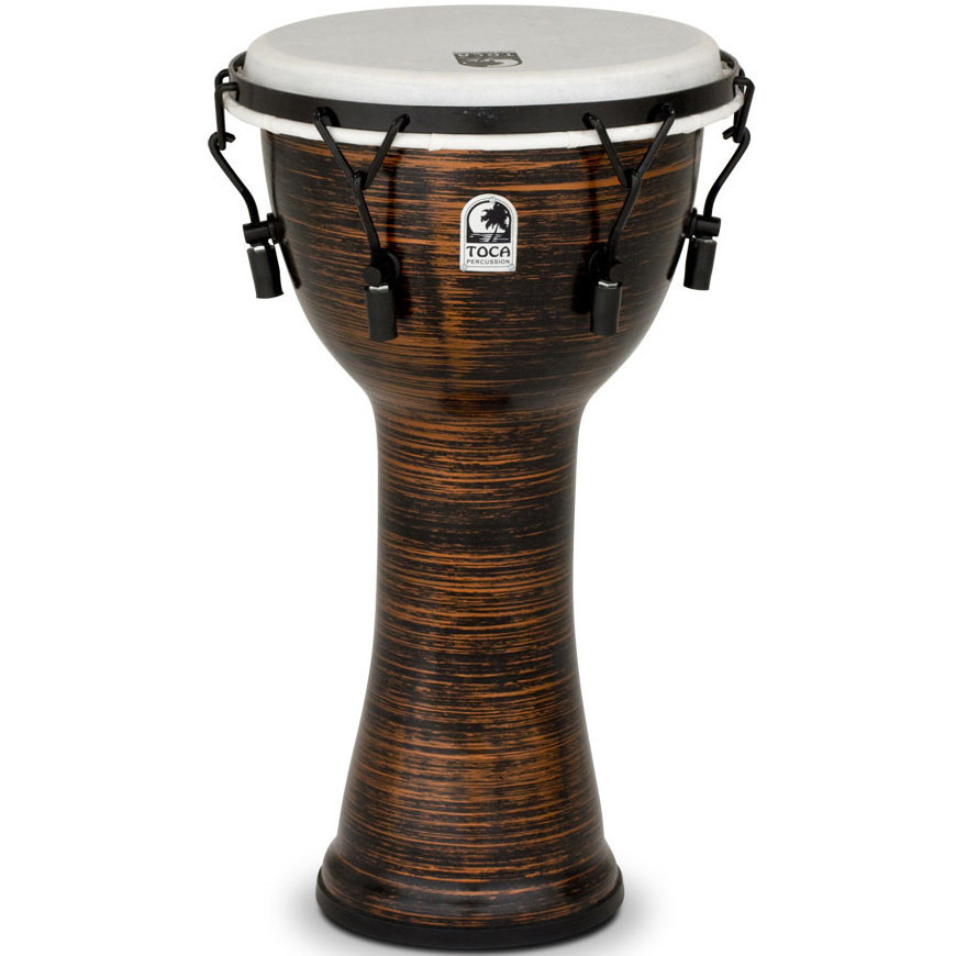 View larger image of Toca Freestyle II Mechanicaly Tuned Djembe - Spun Copper, 10