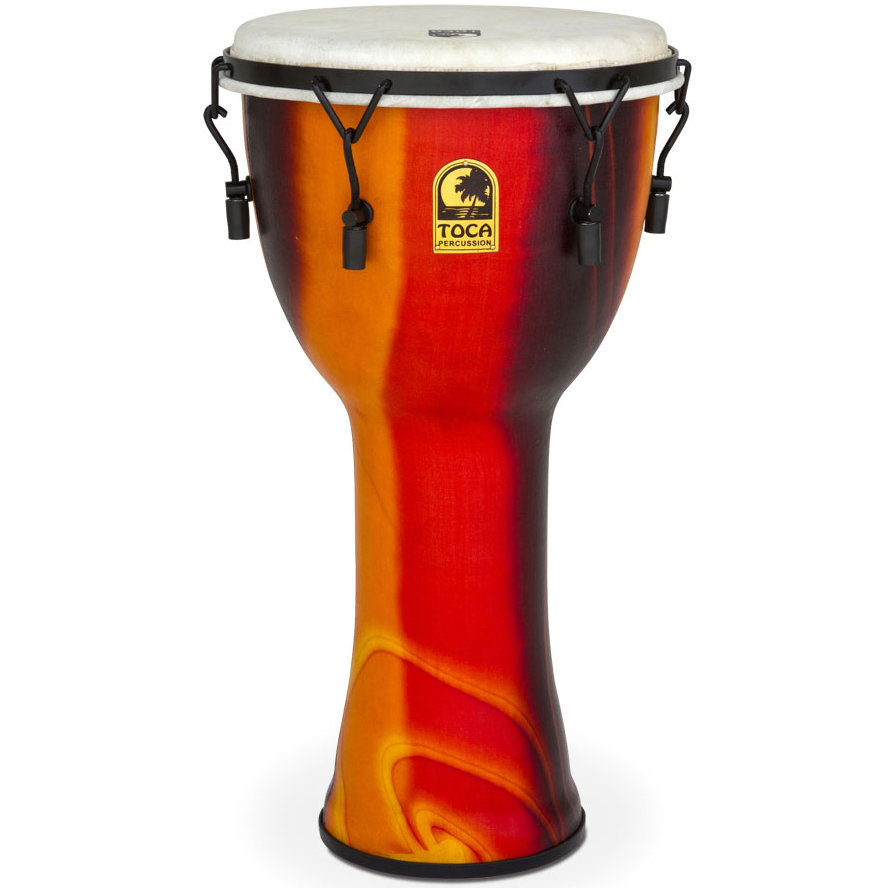 View larger image of Toca Freestyle Mechanically Tuned Djembe - Fiesta, 12