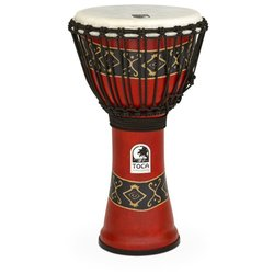 Toca Freestyle Rope Tuned Djembe - Bali Red, 10