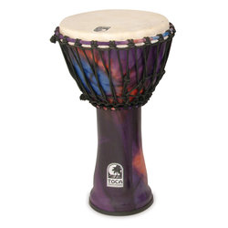 Toca Freestyle Rope Tuned Djembe - Woodstock Purple, 10