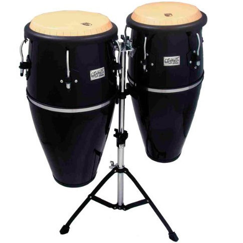 View larger image of Toca Player's Series Conga Set - 10 & 11, Stand, Black