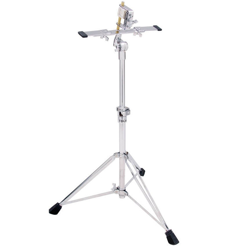 View larger image of Toca Pro Bongo Stand with Adjustable Stabilizer Bars