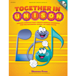 Together In Unison - Reproducible Collection/Listening CD
