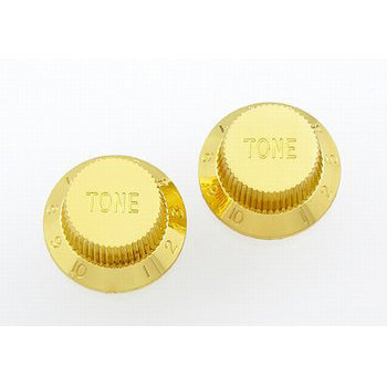 View larger image of Tone Knobs - Plastic, Gold