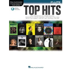 Top Hits - Flute w/Online Audio