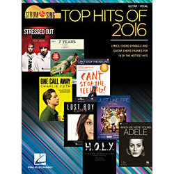 Top Hits of 2016 - Softcover