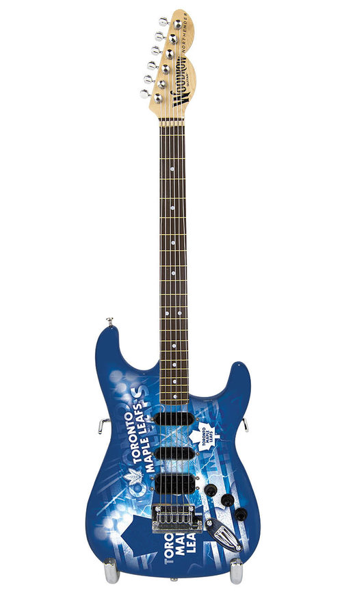 View larger image of Toronto Maple Leafs 10 Collectible Mini Guitar