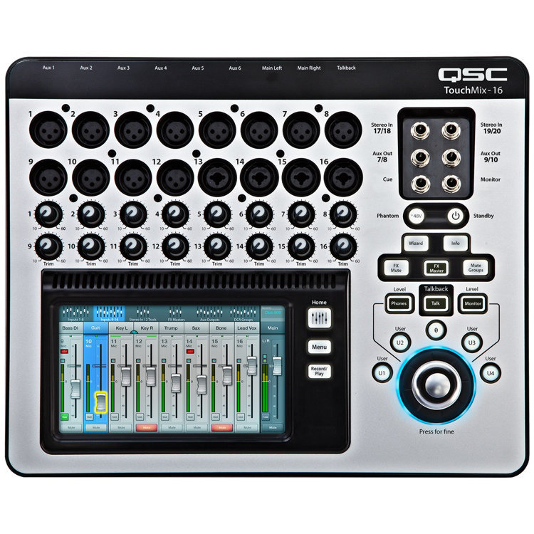 View larger image of TouchMix-16 Compact Digital Mixer