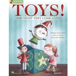 Toys! (The Night They Come Alive!) - Teacher/Singer CD-ROM