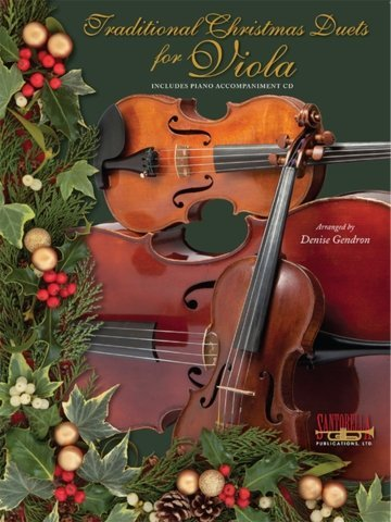 View larger image of Traditional Christmas Duets for Viola w/CD