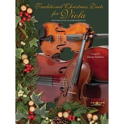 Traditional Christmas Duets for Viola w/CD