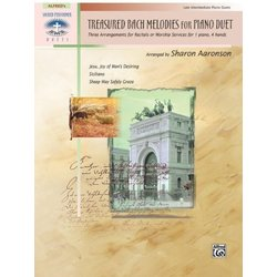 Treasured Bach Melodies for Piano Duet (1P4H)