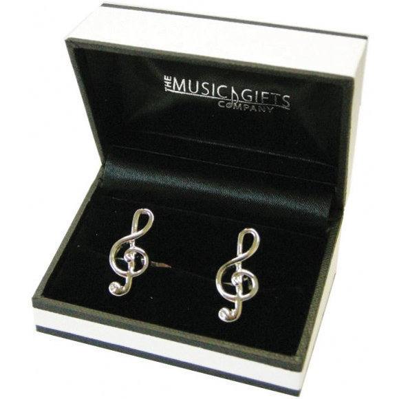 View larger image of Treble Clef Cuff Links