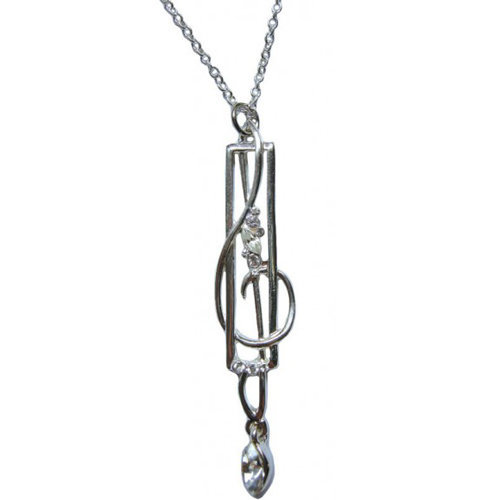 View larger image of Treble Clef Pendant