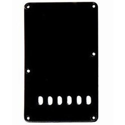 Tremolo Spring Backplate Cover for Strat - Black