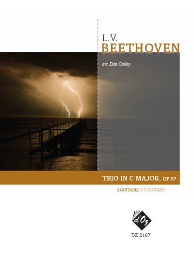 View larger image of Trio In C Major, Op.87 (Beethoven) - Guitar Trio