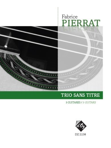 View larger image of Trio Sans Titre (Pierrat) - Guitar Trio