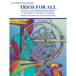 Trios for All - Clarinet / Bass Clarinet