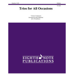 Trios for All Occasions - Trombone