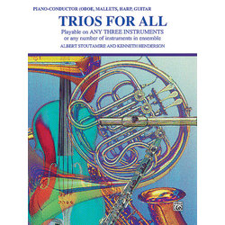 Trios for All - Piano/Conductor (Oboe,Mallets,Harp,Guitar)