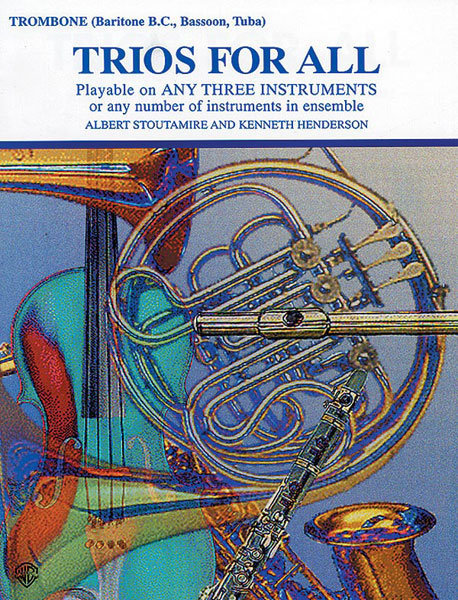 View larger image of Trios for All - Trombone (Baritone B.C/Bassoon/Tuba)