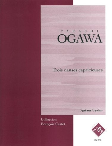 View larger image of Trois Danses Capricieuses (Ogawa) - Guitar Trio