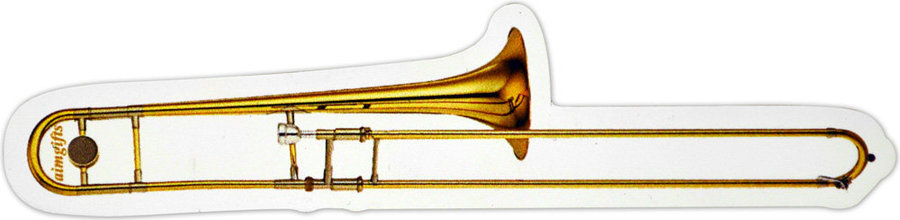 View larger image of Trombone Die Cut Magnet - 6