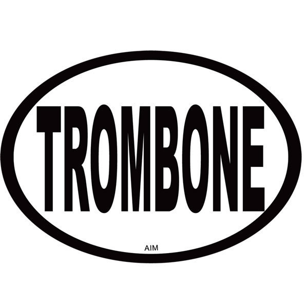 View larger image of Trombone Oval Magnet