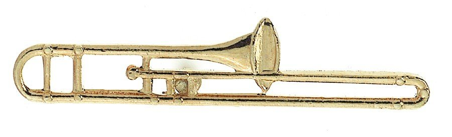 View larger image of Trombone Pin - Gold