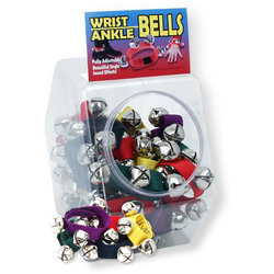 Trophy Adjustable Sleigh Bells for Wrist or Ankle