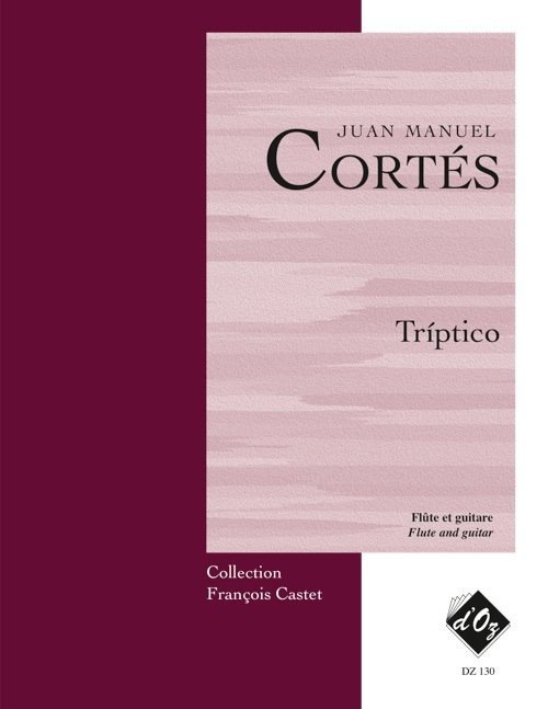 View larger image of Trptico (Cortes) - Guitar & Flute Duet