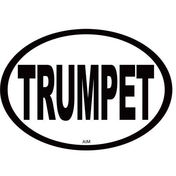 View larger image of Trumpet Oval Magnet